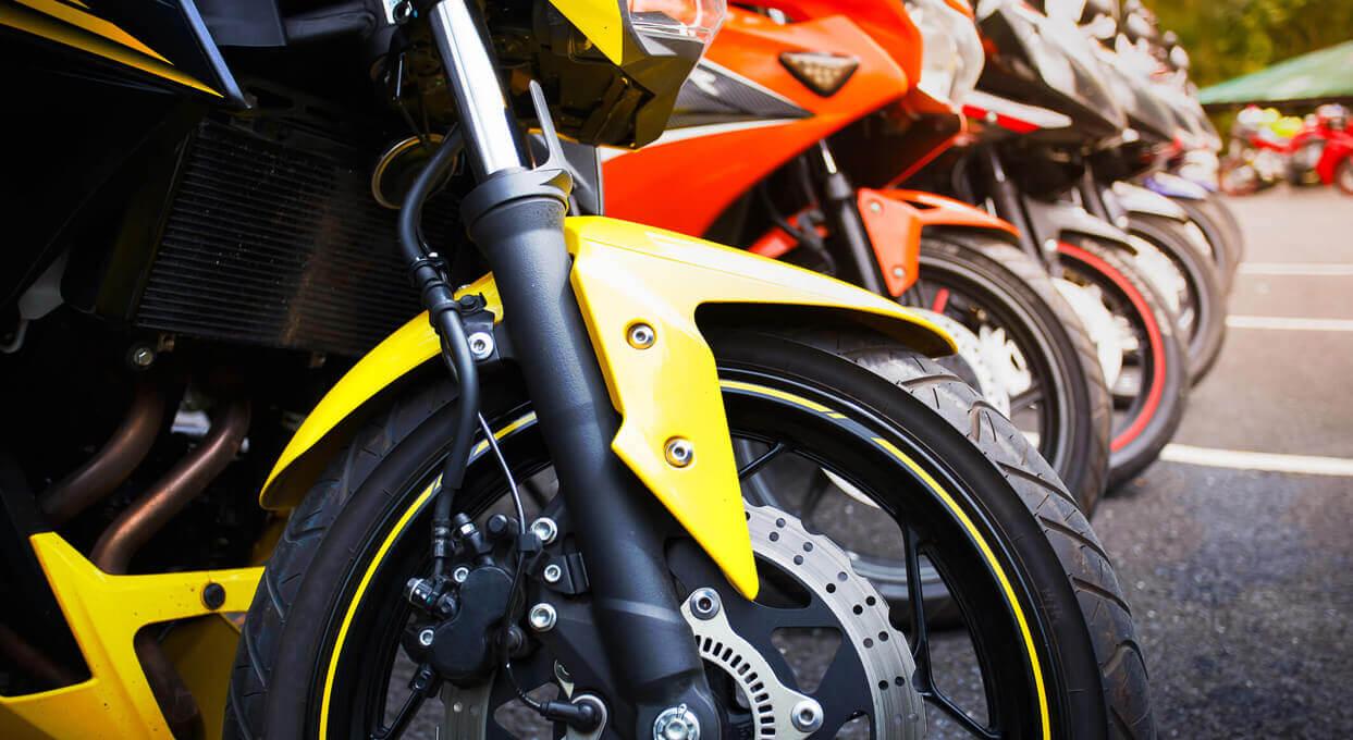 Les deux-roues motorisés